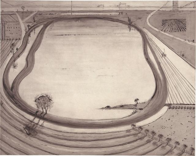 , 'Reservoir,' 2014, Crown Point Press