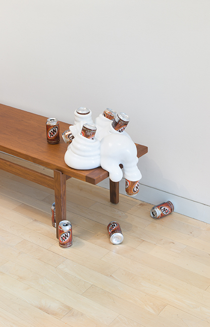 On Edge (installation view), May 20, 2018 to January 13, 2019. The Aldrich Contemporary Art Museum, Ridgefield, CT. Photo: Jason Mandella.