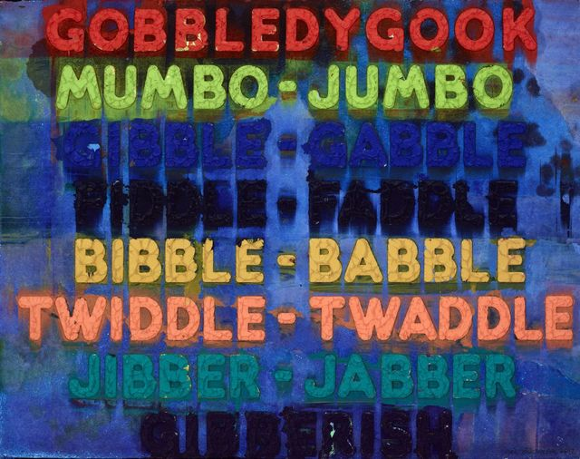 , 'Gobbledygook,' 2017, Galerie Maximillian