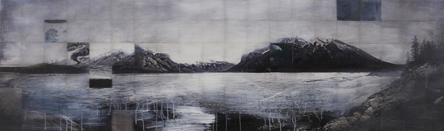 , 'Excavate I (Lake Minnewanka),' 2014, Newzones