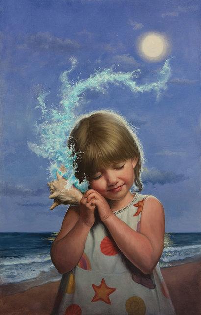 , 'Listening to the Ocean,' 2014, IX Gallery