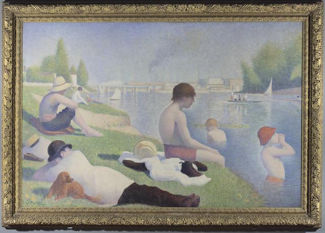 Georges Seurat, 'Bathers at Asnières', 1884, The National Gallery, London