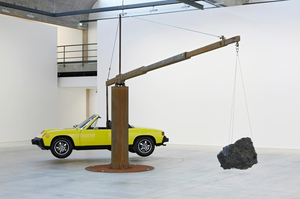 Chris Burden April 25 - July 24, 2015 © Chris Burden. Courtesy of the artist and Gagosian Gallery. Photography by Thomas Lannes.