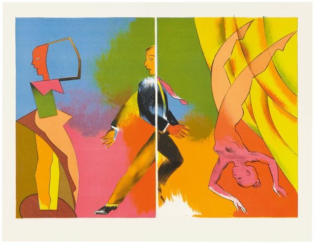 Allen Jones, 'Split Performance', 2012, Cristea Roberts Gallery