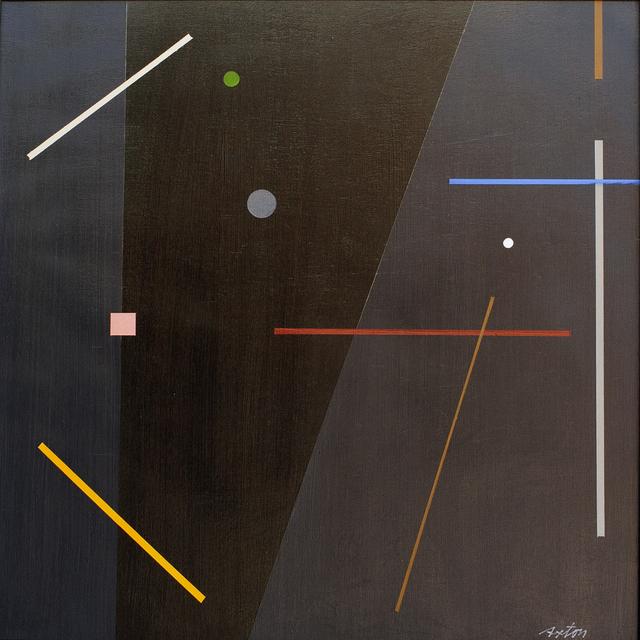 John Axton, 'Flying Toward Nambe', 2020, Painting, Oil on Panel, Ventana Fine Art