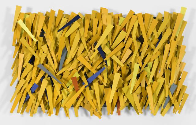 , 'Yellow Rain,' 2018, De Buck Gallery