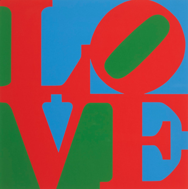 Robert Indiana, 'The Book of Love', 1986, Print, Serigraph, Georgetown Frame Shoppe