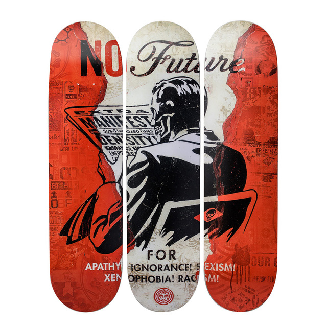 Shepard Fairey (OBEY), 'No Future Skateboards', 2017, Artware Editions