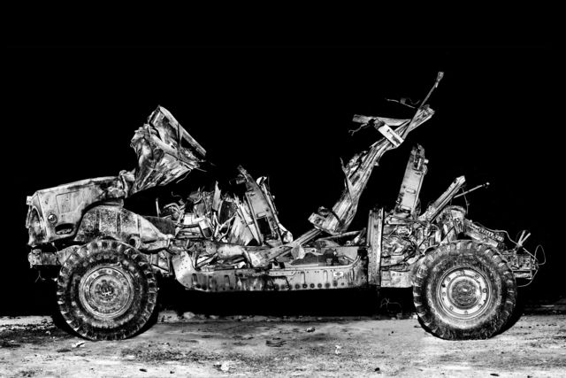 , 'SERVICE: Tactical training Hummer at Medina Wasl, mock Iraqi village.,' 2008, Milk Gallery