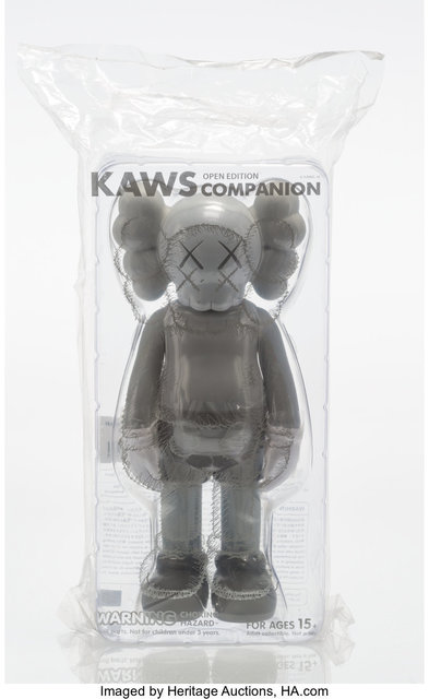 KAWS, 'Companion (Grey)', 2016, Heritage Auctions
