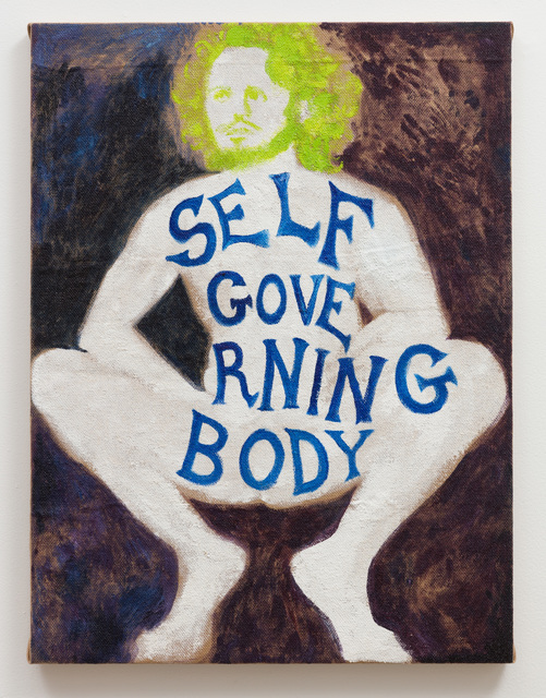 , 'Self Governing Body,' 2018, Klowden Mann