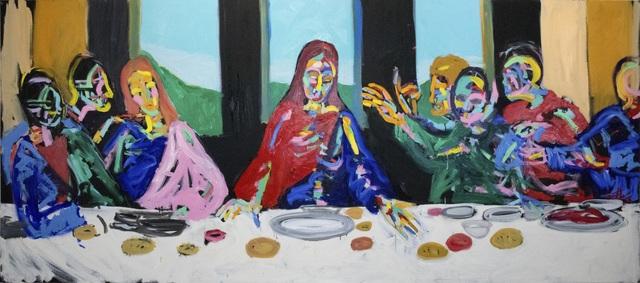 Bradley Theodore, 'The Last Supper in Focus', 2018 , Maddox Gallery