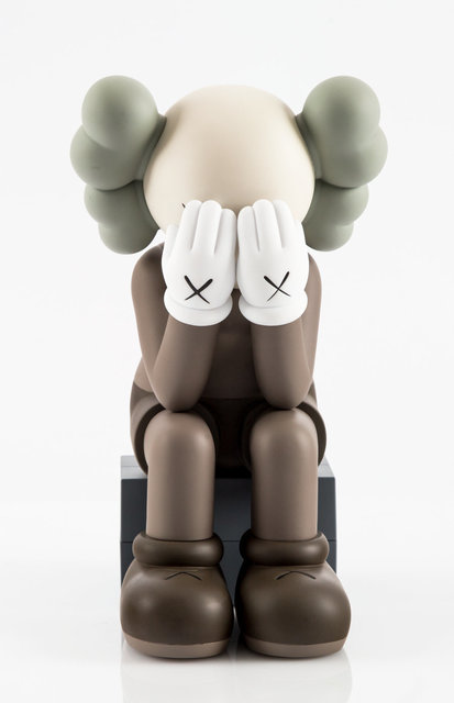 KAWS, 'Passing Through Companion (Brown)', 2013, Other, Painted cast vinyl, Heritage Auctions