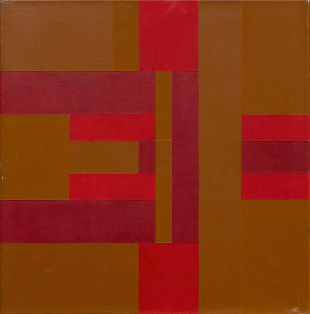 Carlo L. Vivarelli, 'form-farb palindrom', 1964, Painting, Acrylic on canvas, Koller Auctions