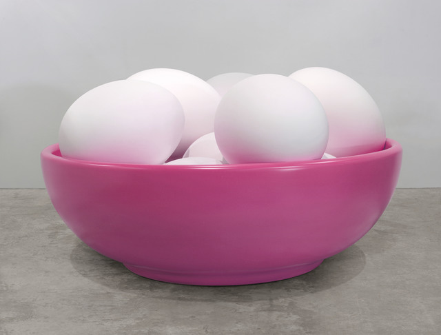 , 'Bowl with Eggs (Pink),' 1994-2009, Newport Street Gallery