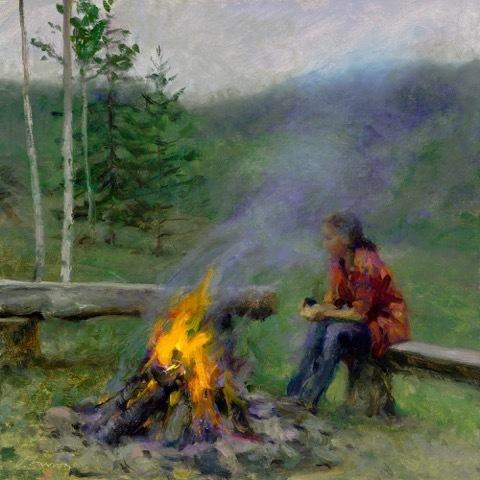 , 'Campfire,' 2000-2019, Helena Fox Fine Art