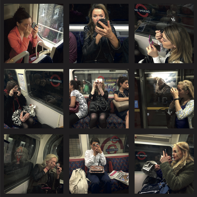 , 'The Art of Commute: Make Up,' 2016, Imitate Modern