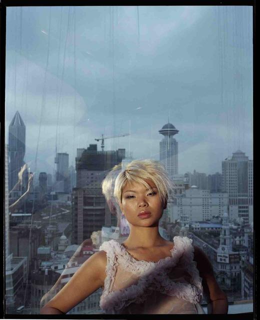 , 'Lu Yan, mannequin dans ma chambre, un jour de pluie, mars 2002, Shanghai 雨天,在我房间里的模特吕燕,2002年3月,上海,' 2002, Shanghai Gallery of Art