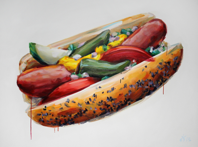 , 'Chicago Style,' 2015, Gallery at Zhou B Art Center