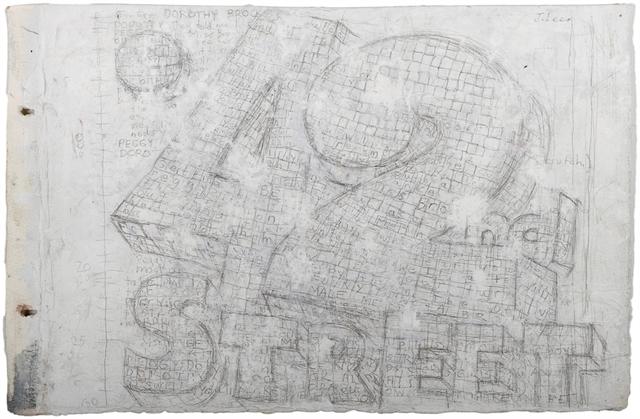 , '42nd Street,' 2015, John Davis Gallery