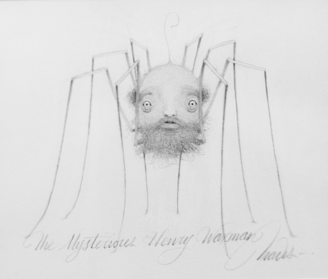, 'Mysterious Henry Wasman Drawing,' 2015, KP Projects