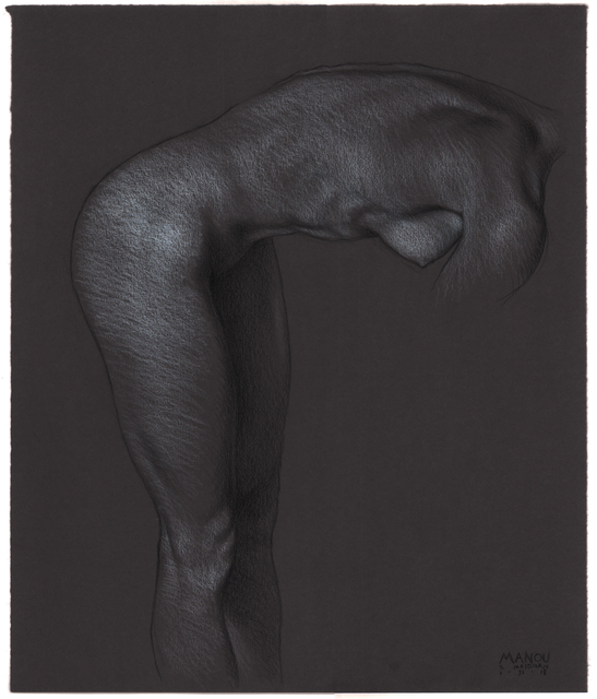 , 'Manou Standing, Bent Forward,' 2018, Jenn Singer Gallery