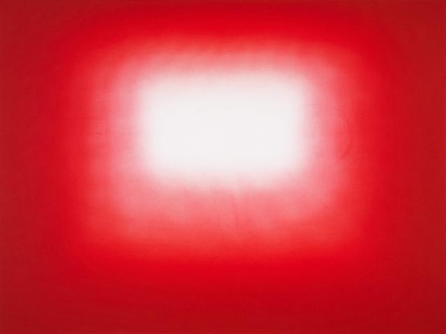 , 'Red Shadow 2,' 2016, Galería La Caja Negra