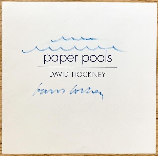 David Hockney, 'Paper Pools', 1979, Kwiat Art