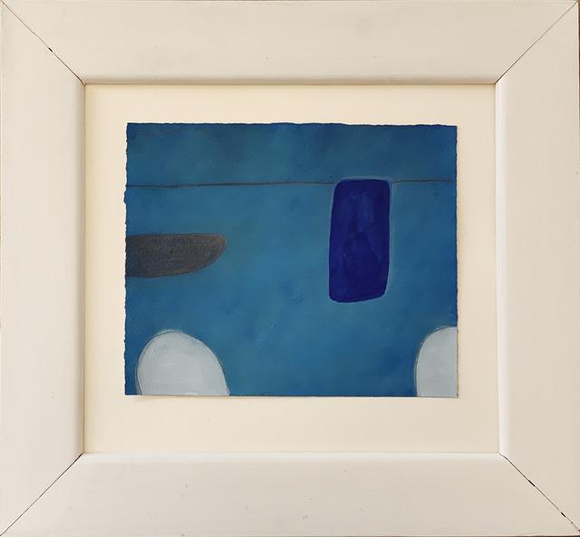 William Scott, 'Still Life Abstracted 1st Theme,  In Blue', 1974, Fairhead Fine Art Limited