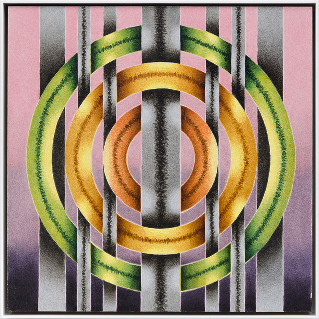 , 'Circle #3,' 2015, Louis Stern Fine Arts