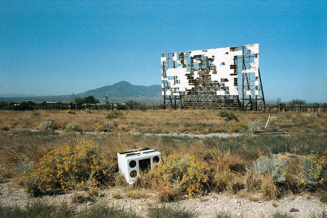 , 'Abandoned Drive-in, Texas,' 1983, Blain | Southern