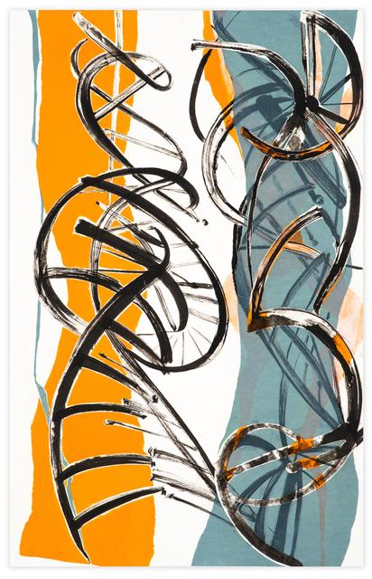 Meighen Jackson, 'DOUBLE HELIX TWIST AND SHOUT', 2010-2019, Walter Wickiser Gallery