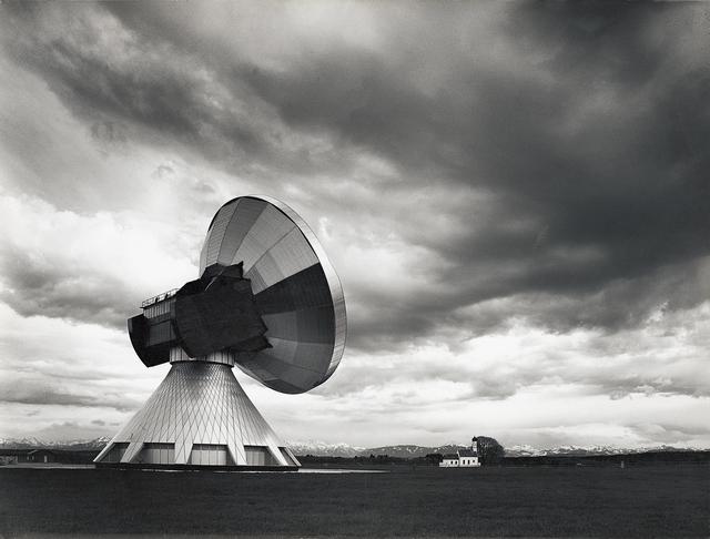 , 'Hans Maurer: Erdfunkstelle, Raisting 2,' 1971, Museum für Fotografie