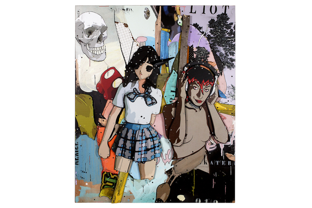 Eric Liot, 'Powell And Peralta's Doughters', 2012, Snow Pearl Art Gallery