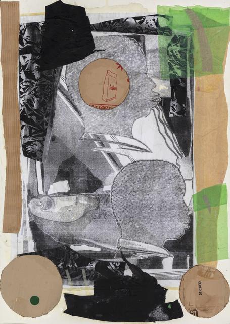 Moshekwa Langa, 'Double Portrait; Absence of Silence', 2018, Stevenson