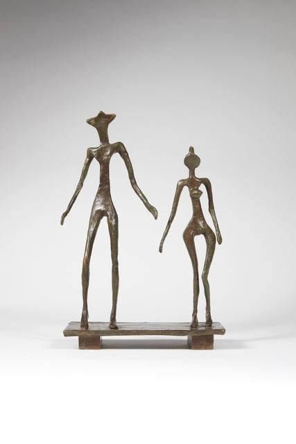, 'Couple,' ca. 1957, Galerie Marcilhac