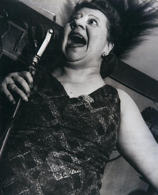 , 'Singer at Café Metropole,' 1946, Bruce Silverstein Gallery