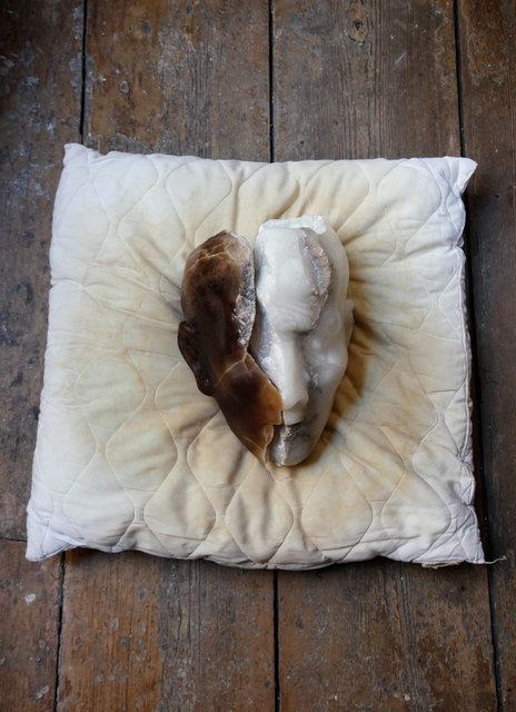 , 'Alabaster head,' 2016, Martin Kudlek