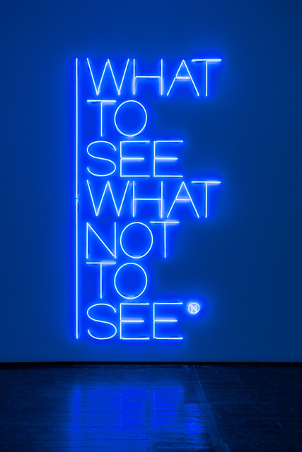 , 'What to see what not to see,' 2017, Galleria Fumagalli