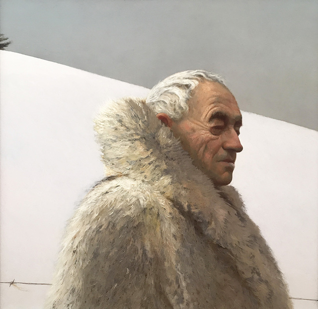 , 'Andrew Wyeth on Snow Hill,' 2017, Somerville Manning Gallery