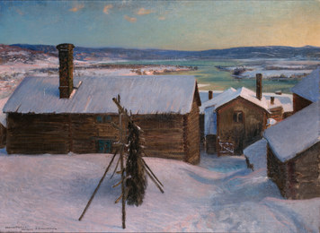 Ullvi-Leksand in Winter