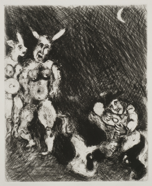 , 'The Satyr and the Traveler,' 1927-1930, Thomas French Fine Art
