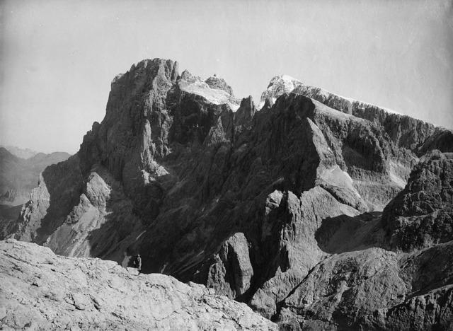 Vittorio Sella, 'Cimon della Pala dal Rosetta', 1890 ca., Photography, Vintage gelatin silver print., Il Ponte