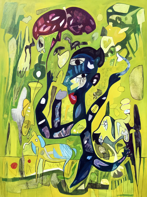 ", '""Loca linda"",' 2017, RUBBER STAMP ART PROJECT"