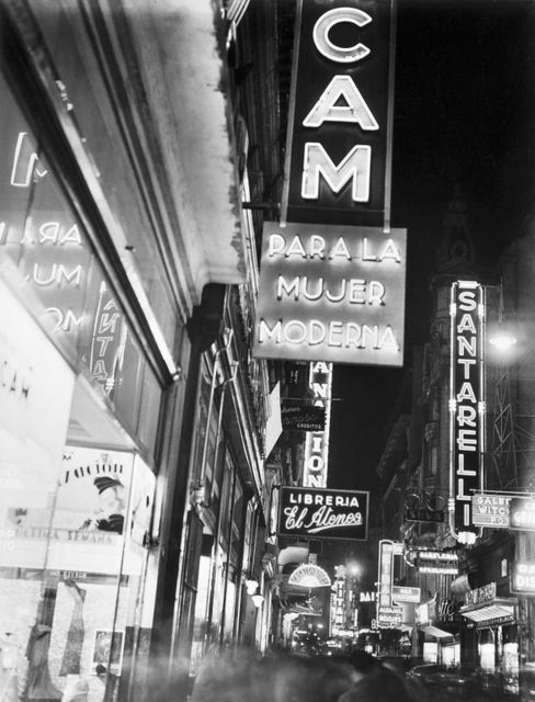 , 'Calle Florida,' 1936, Jorge Mara - La Ruche