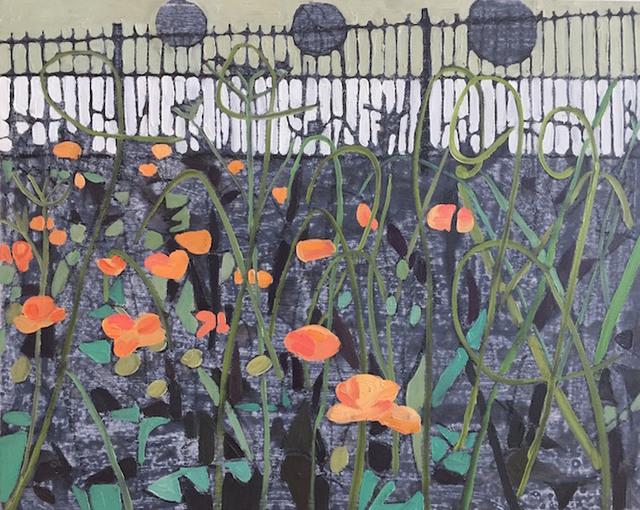 , 'Orange Poppies,' 2017, parts gallery