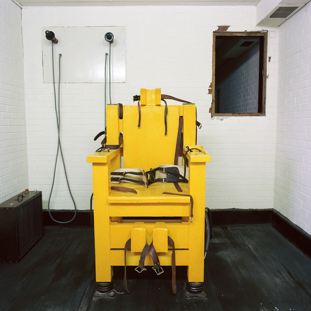 , 'Electric Chair, Holman Unit, Atmore, Alabama,' 1991, Lee Marks Fine Art