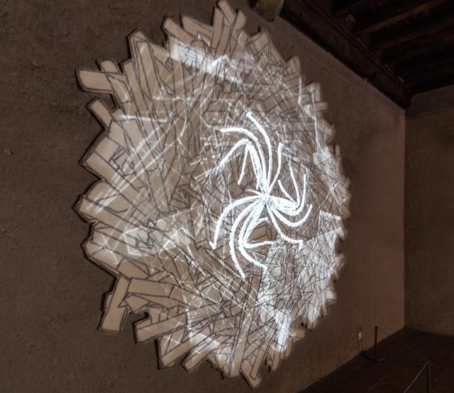 , 'Fractal Flowers,' 2009, Puerta Roja