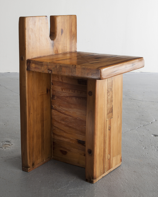 Lina Bo Bardi, 'Chair in solid pine. Designed by Lina Bo Bardi, Marcelo Ferraz and Marcelo Suzuki for the SESC-Pompéia Center, Sao Paulo, Brazil, 1980s.,' ca. 1985, R & Company