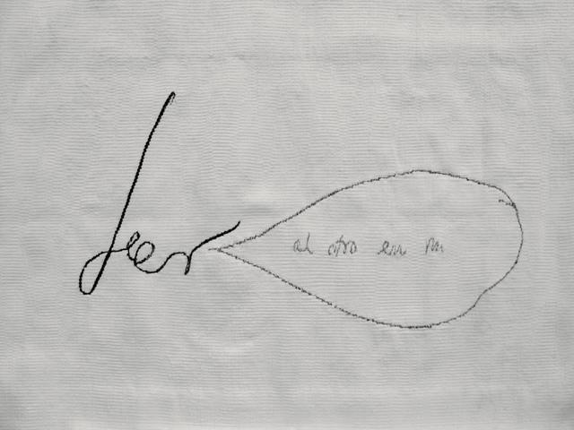 , 'Leer al otro en mí,' 2008, WALDEN